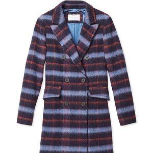 BCBG Plaid Coat